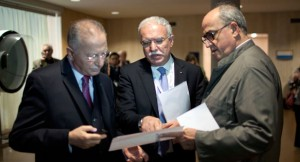 Palestinian Officials meet at UNESCO