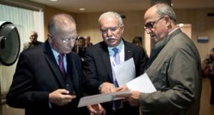 Palestinian Officials meet at UNESCO