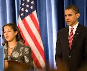 Susan Rice and President Obama