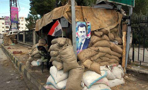 Syria Hunkers Down