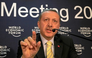 Erdogan at the WEF