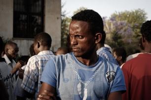 African Migrant in Tel Aviv, 2012