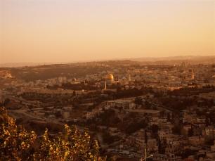Jerusalem, from Mount Scopus