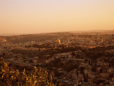 Jerusalem, from Mount Scopus