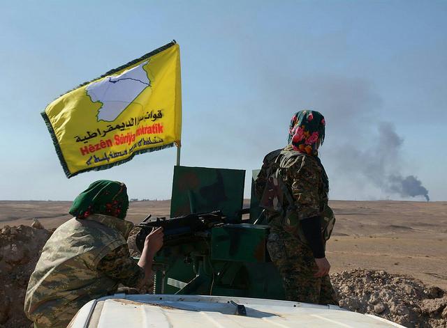 Kurdish-Fighters